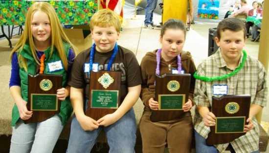 greene county 4 h club members