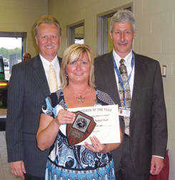 Local News: Linton woman named Supervisor of the Year at