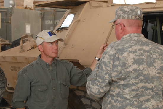 Local News: Governor visits with Guard troops in Iraq (5/20