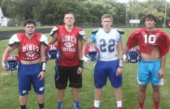 High School Sports: The Blue Face Mask symbolizes dedication