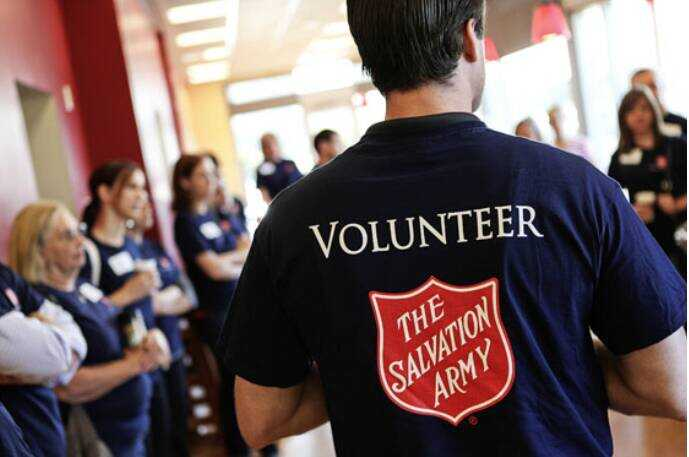 The Salvation Army needs YOU